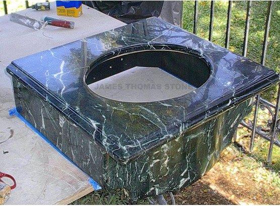 Custom stone fabrication