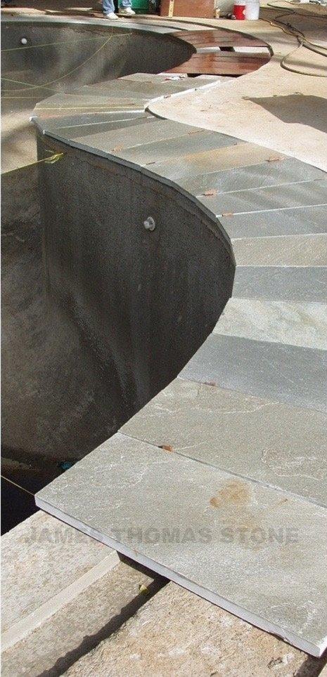 pool deck stone design