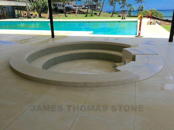 Custom stone design fabrication