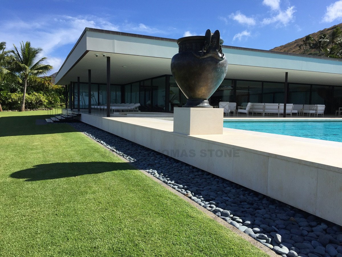 custom stone exterior