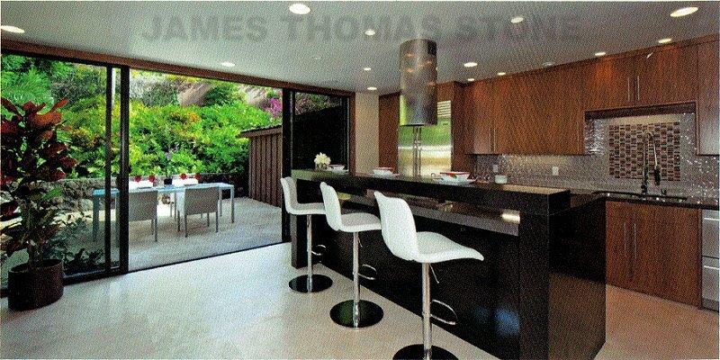 interior kitchen stone installation